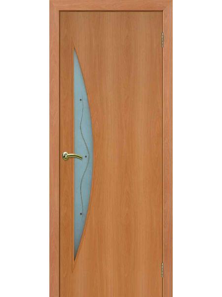 Межкомнатная дверь ПОФ Луна (Миланский орех)