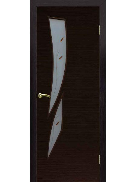 Межкомнатная дверь ПОФ Стрелиция (Венге)