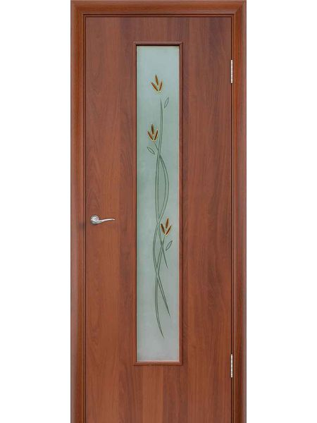 Межкомнатная дверь ПОФ Ветка (Итальянский орех)