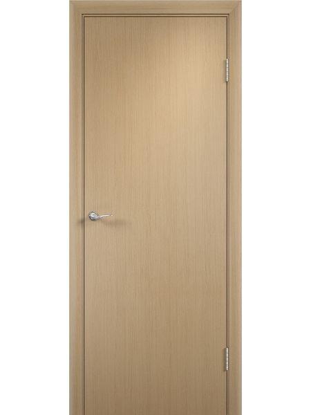 Межкомнатная дверь Верда Полотно глухое (Беленый дуб)