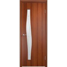 Межкомнатные двери Верда С-10 Фьюзинг (Итальянский орех)