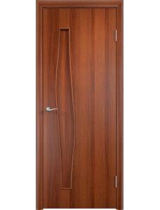 Межкомнатная дверь Верда С-10Г (Итальянский орех)