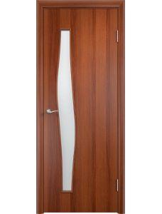 Межкомнатная дверь Верда С-10 Остекленная