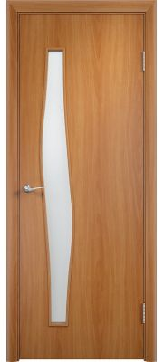 Дверь Верда С-10 Остекленная (Миланский орех)