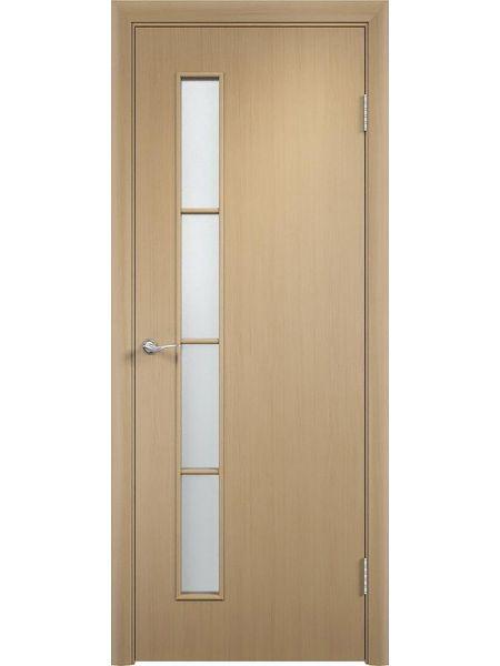 Межкомнатная дверь Верда С-14О (Дуб Паллада)