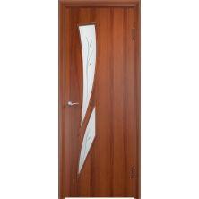 Межкомнатные двери Вердa С-2Ф (Итальянский орех)