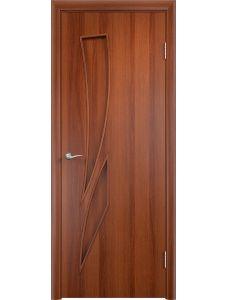 Межкомнатная дверь Верда С-2Г (Итальянский орех)