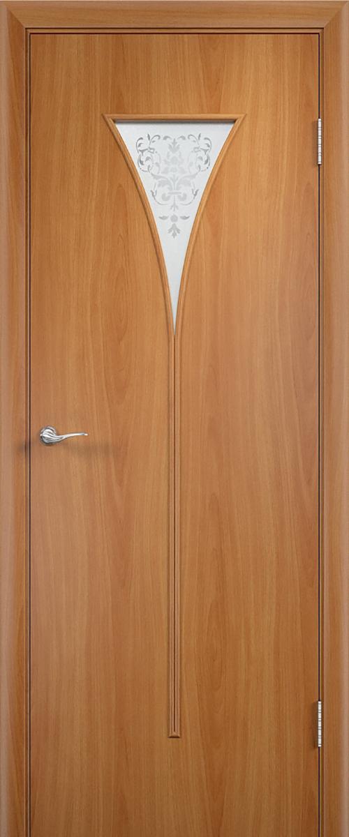 Купить межкомнатную дверь Верда С-4О цвет миланский орех в ...
