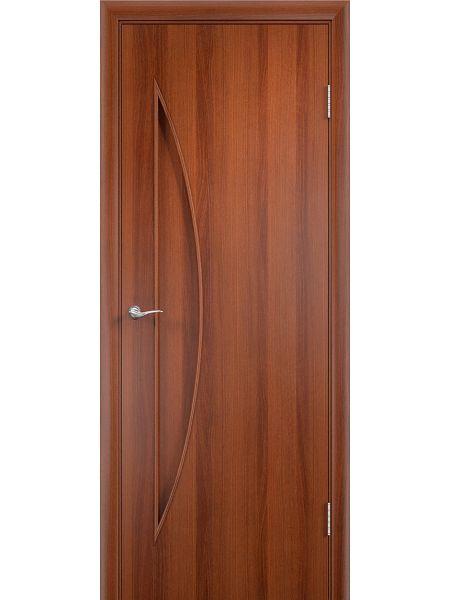 Межкомнатная дверь Верда С-6Г (Итальянский орех)