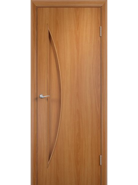 Межкомнатная дверь Верда С-6Г (Миланский орех)