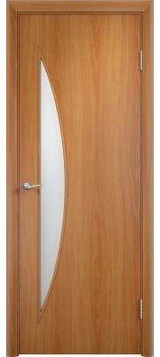 Межкомнатные двери Верда С-6О (Миланский орех)