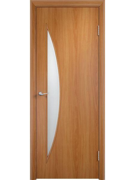 Купить межкомнатную дверь Верда С-6О цвет миланский орех в ...