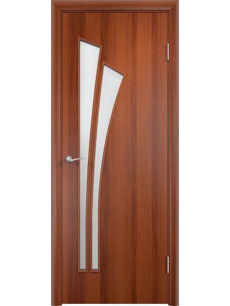Межкомнатная дверь Верда С-7О (Итальянский орех)