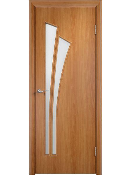 Межкомнатные двери Верда С-7О (Миланский орех)