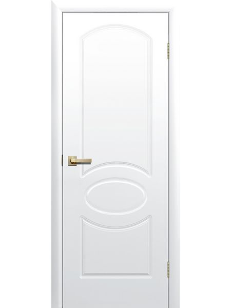 Межкомнатная дверь ПГ Соната (Белая)