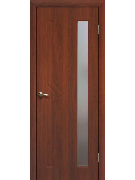 Межкомнатная дверь ПО Сигма (Итальянский орех)