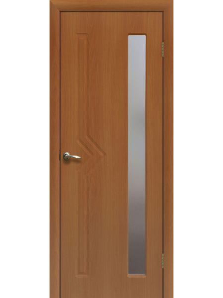 Межкомнатная дверь ПО Сигма (Миланский орех)