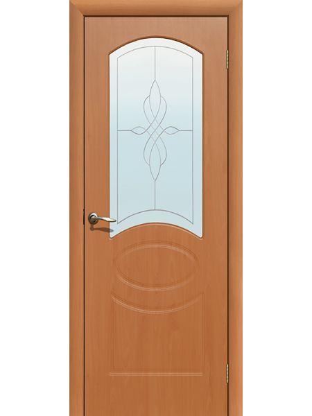 Межкомнатная дверь ПО Версаль (Миланский орех)
