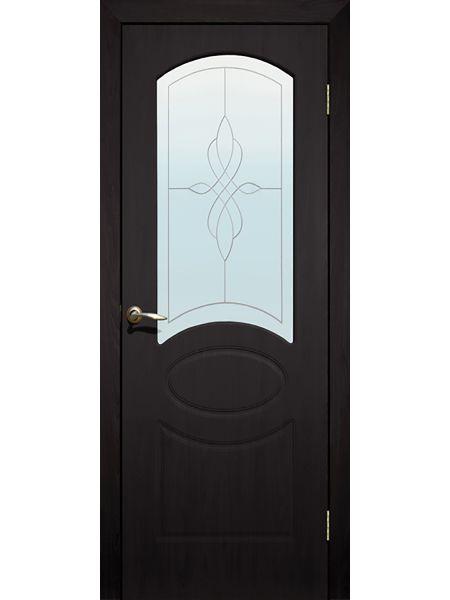 Межкомнатная дверь ПО Версаль (Венге)