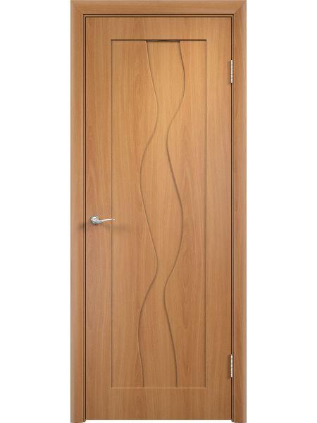 Межкомнатная дверь Верда ПГ Вираж (Миланский орех)