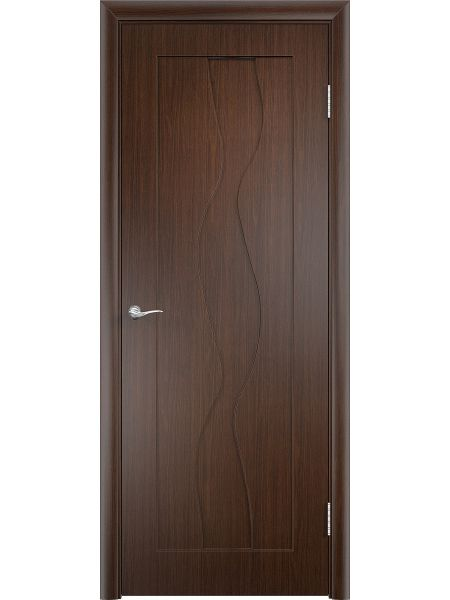 Межкомнатная дверь Верда ПГ Вираж (Венге)