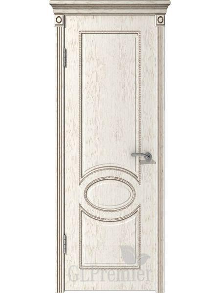 Межкомнатная дверь ВФД GL Premier 11 (Слоновая кость)