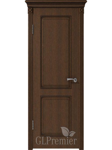 Межкомнатная дверь ВФД GL Premier 21 (Дуб коньячный)