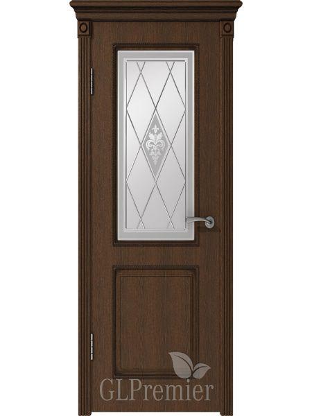 Межкомнатная дверь ВФД GL Premier 22 (Дуб коньячный)