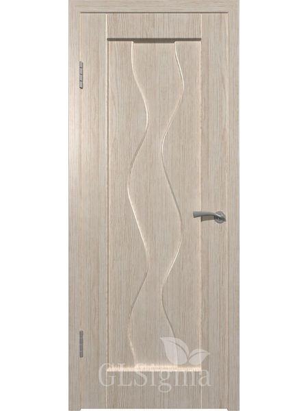 Межкомнатная дверь ВФД GL Sigma 41 ПГ (Беленый дуб)
