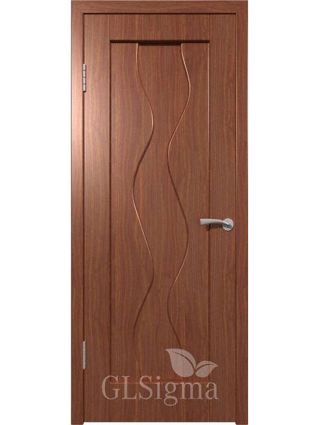Межкомнатная дверь ВФД GL Sigma 41 ПГ (Итальянский орех)