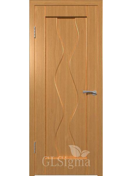 Межкомнатная дверь ВФД GL Sigma 41 ПГ (Миланский орех)