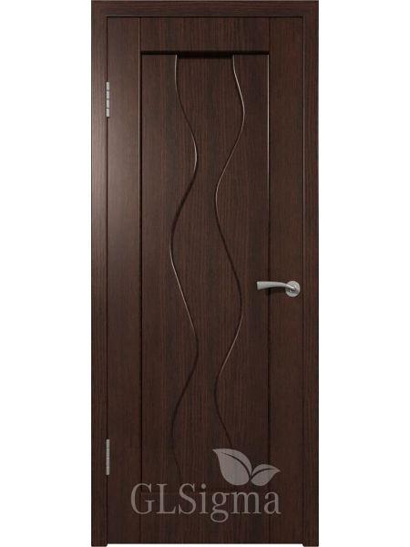 Межкомнатная дверь ВФД GL Sigma 41 ПГ (Венге)