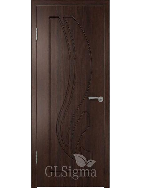 Межкомнатная дверь ВФД GL Sigma 81 ПГ (Венге)