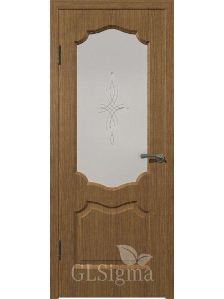 Межкомнатная дверь ВФД GL Sigma 92 ПО (Ольха голд)