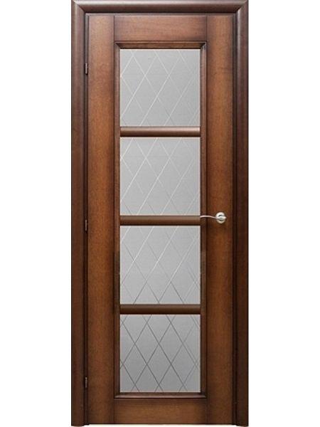 Межкомнатная дверь Краснодеревщик Модель 33.40 (Кофе)
