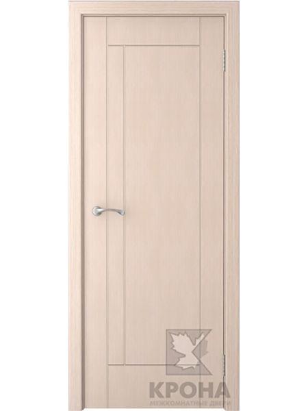 Межкомнатная дверь Крона ПГ Гранада (Беленый дуб)