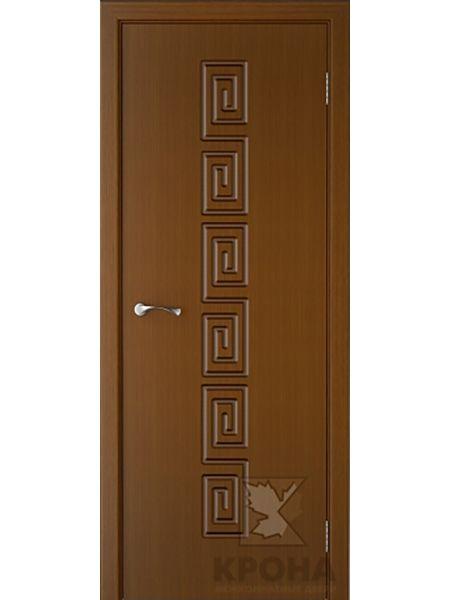Межкомнатная дверь Крона ПГ Греция (Орех)