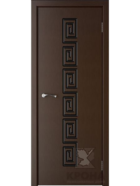 Межкомнатная дверь Крона ПГ Греция (Венге)