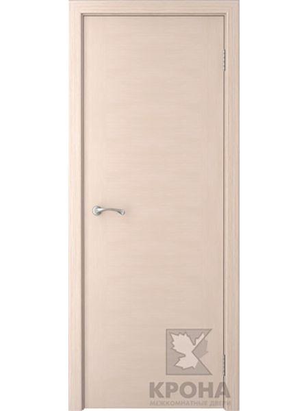 Межкомнатная дверь Крона ПГ Карат (Беленый дуб)