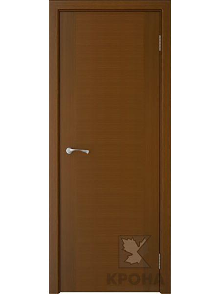 Межкомнатная дверь Крона ПГ Карат (Орех)