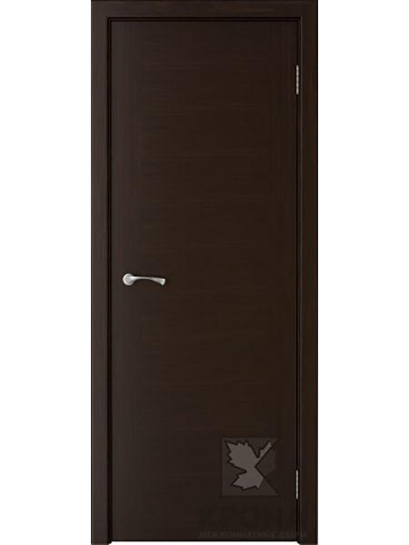 Межкомнатная дверь Крона ПГ Карат (Темный шоколад)