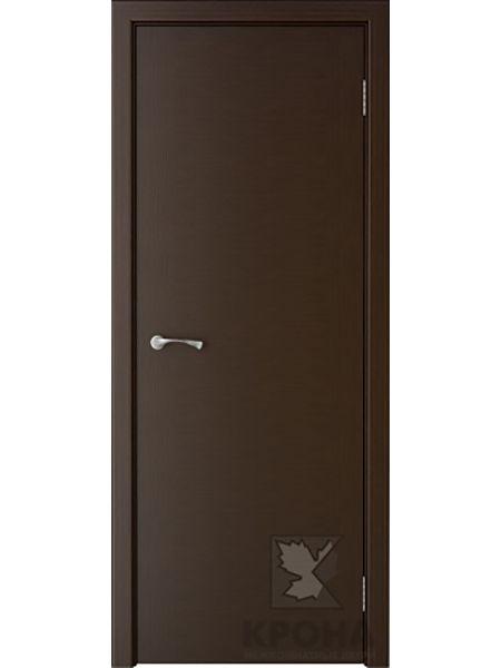 Межкомнатная дверь Крона ПГ Карат (Венге)