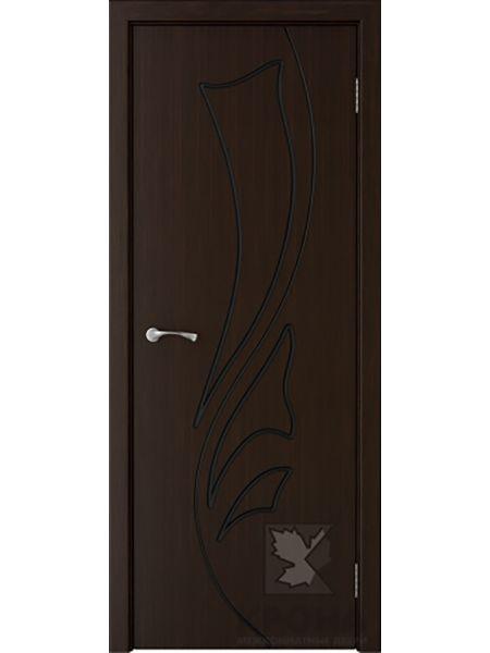 Межкомнатная дверь Крона ПГ Лидия (Темный шоколад)