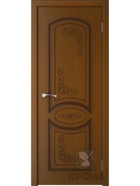 Межкомнатная дверь Крона ПГ Муза (Орех)