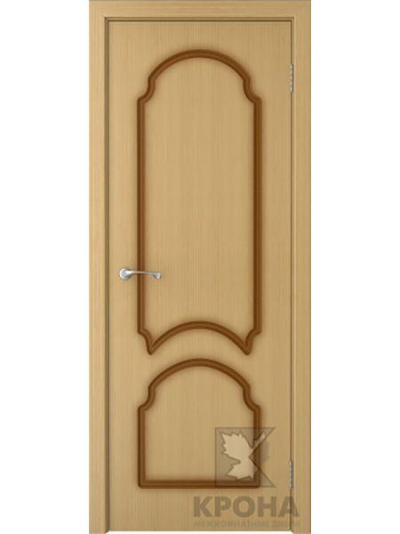 Межкомнатная дверь Крона ПГ Соната (Дуб)