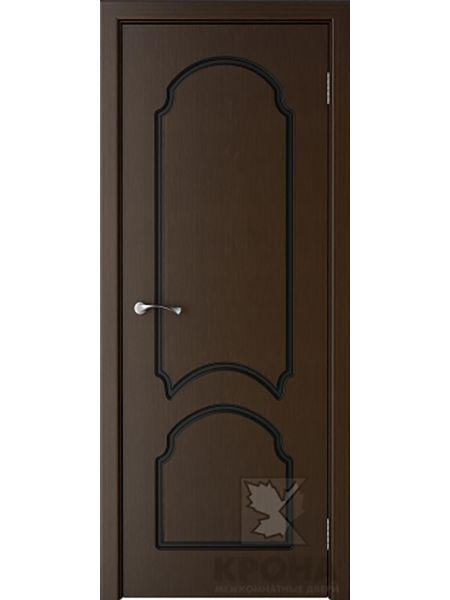 Межкомнатная дверь Крона ПГ Соната (Венге)
