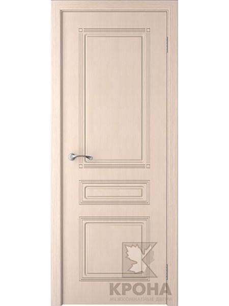 Межкомнатная дверь Крона ПГ Стиль (Беленый дуб)