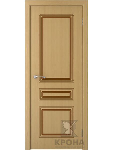 Межкомнатная дверь Крона ПГ Стиль (Дуб)