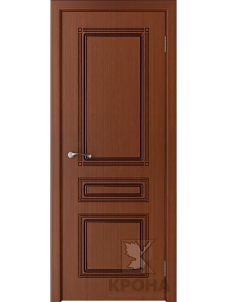 Межкомнатная дверь Крона ПГ Стиль (Макоре)
