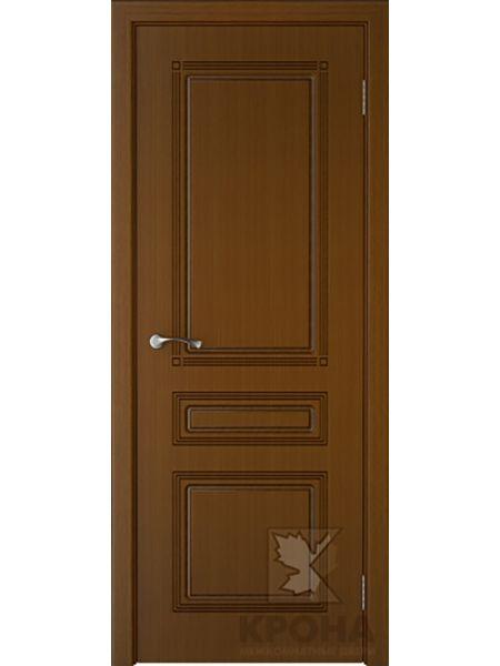 Межкомнатная дверь Крона ПГ Стиль (Орех)